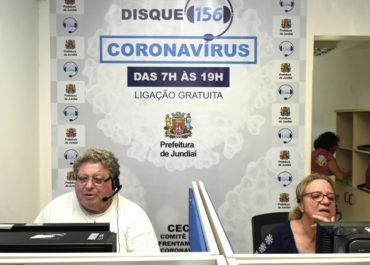 Jundiaí disponibiliza 'Disque 156 Coronavírus'